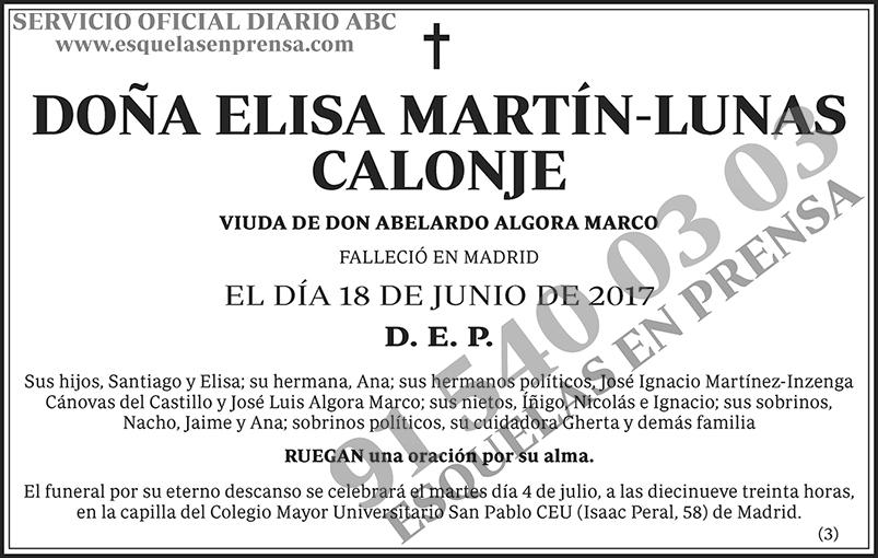 Elisa Martín-Lunas Calonje